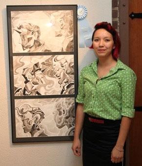 Scholarship winner Alisha Ellard