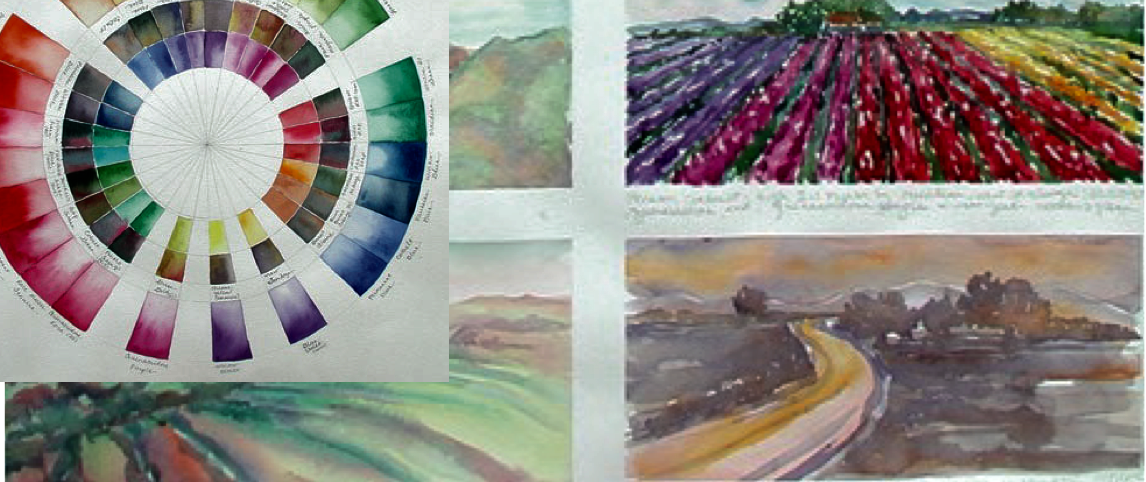 Nancy Saltsman Watercolor workshop
