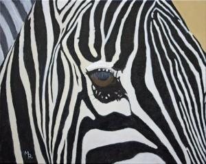 Zebra Eye (8x10)