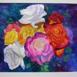 Linda Jeffery Sailors, Watercolor, Pastel, Acrylic and Photos