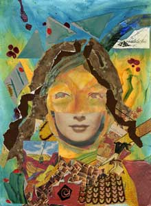 """""""Mask"""" by Michell Bartolick"""