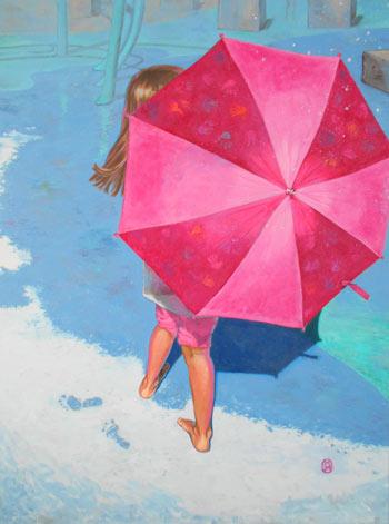 Rain Dance – Acrylic 40x30in