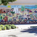 Livermore Wine Country Wall: Mural 45' x 11'