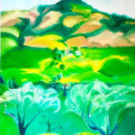 Maria Grazia Romeo, Oil painting, Watercolor, Sculpture, Glass